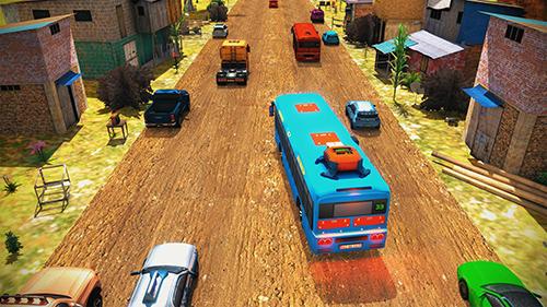 Download Tuk tuk drive traffic simulator 3D. Rickshaw traffic street racing Android free game.