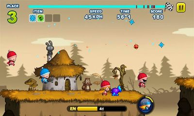 Screenshots do Turbo Kids - Perigoso para tablet e celular Android.