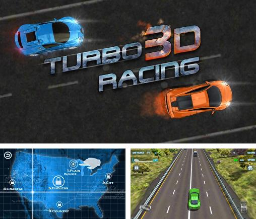 In addition to the game Turbo Racing 3D for Android phones and tablets, you can also download Turbo racing 3D: Nitro traffic car for free.