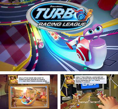 In addition to the game Cars: Fast as Lightning for Android phones and tablets, you can also download Turbo Racing League for free.