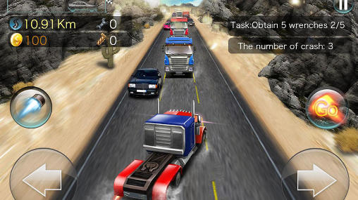 Turbo rush racing скриншот 2