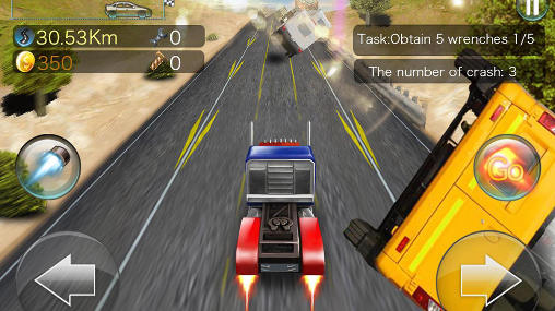 Screenshots von Turbo rush racing für Android-Tablet, Smartphone.