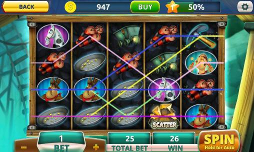 Screenshots of the Turbo slots for Android tablet, phone.