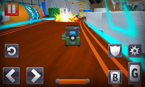Turbo toys racing screenshot 2