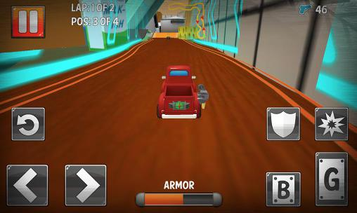 Turbo toys racing screenshot 3