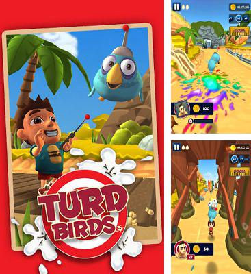 In addition to the game Men's Room Mayhem for Android phones and tablets, you can also download Turd Birds for free.