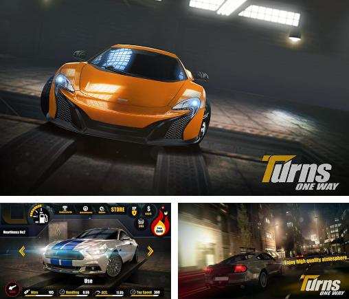 In addition to the game Sports Car Challenge for Android phones and tablets, you can also download Turns one way: Racing for free.