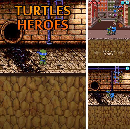 In addition to the game Lab of the Dead for Android phones and tablets, you can also download Turtles heroes for free.