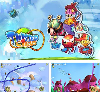 In addition to the game Bert In Space for Android phones and tablets, you can also download Twisted Circus for free.