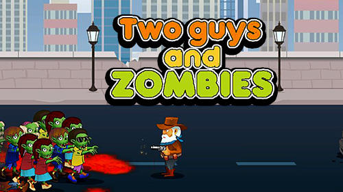 Two guys and zombies обложка