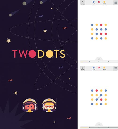 In addition to the game Hundreds for Android phones and tablets, you can also download Twodots for free.