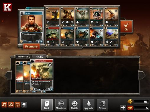 Screenshots von Tyrant unleashed für Android-Tablet, Smartphone.