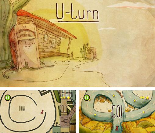 In addition to the game Canyon crashers for Android phones and tablets, you can also download U-turn for free.