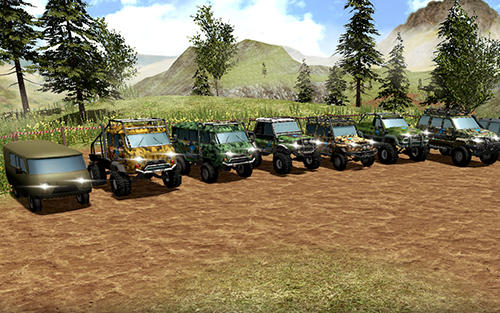 UAZ 4x4 offroad rally screenshot 2