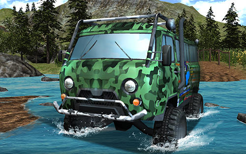 UAZ 4x4 offroad rally screenshot 3