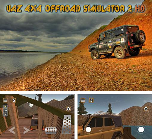 In addition to the game 4x4 offroad trophy racing for Android phones and tablets, you can also download UAZ 4x4: Offroad simulator 2 HD for free.