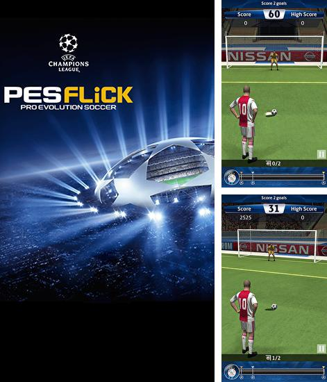 En plus du jeu Le coup final pour téléphones et tablettes Android, vous pouvez aussi télécharger gratuitement Ligue des champions UEFA: Coups francs. Foot professionnel, UEFA champions league: PES flick. Pro evolution soccer.