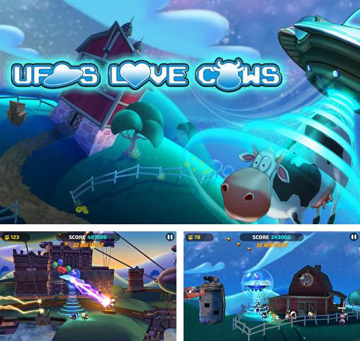 In addition to the game Probe the Humans for Android phones and tablets, you can also download UFOs love cows for free.