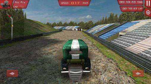 Ultimate 3D: Classic car rally screenshot 2