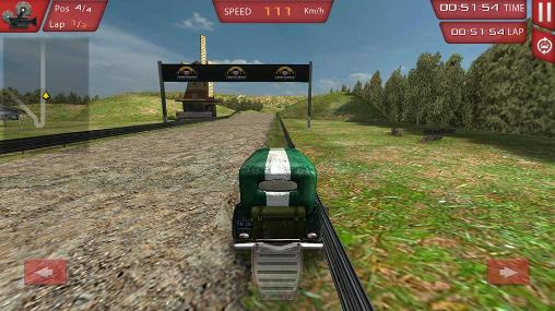 Ultimate 3D: Classic car rally screenshot 3