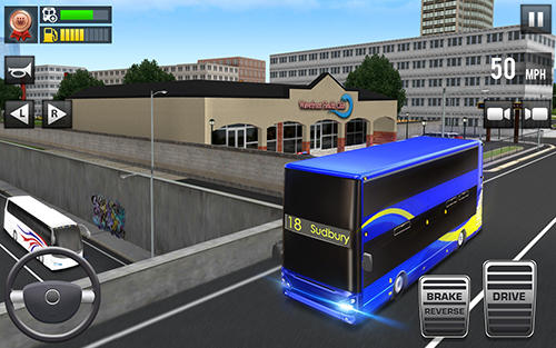 Screenshots von Ultimate bus driving: Free 3D realistic simulator für Android-Tablet, Smartphone.