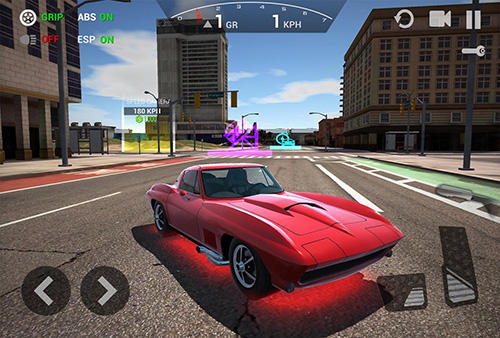 Screenshots von Ultimate car driving: Classics für Android-Tablet, Smartphone.