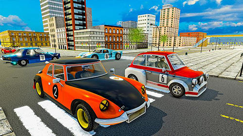 Screenshots von Ultimate car driving simulator: Classics für Android-Tablet, Smartphone.
