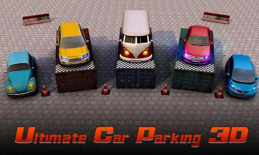 Ultimate car parking 3D обложка