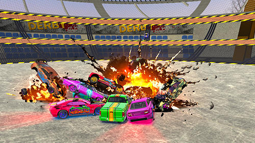 Ultimate derby online: Mad demolition multiplayer скриншот 2