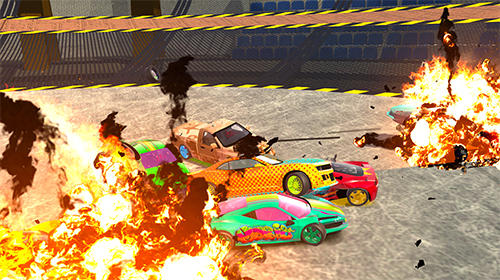 Ultimate derby online: Mad demolition multiplayer картинка из игры 3