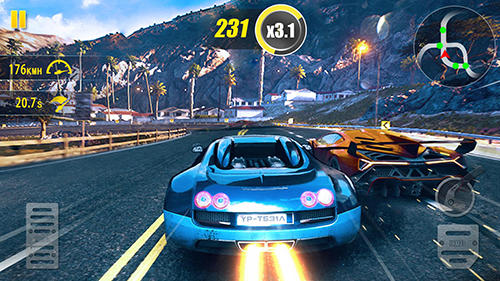 Screenshots von Ultimate drifting: Real road car racing game für Android-Tablet, Smartphone.