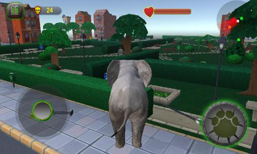 Screenshots von Ultimate elephant rampage 3D für Android-Tablet, Smartphone.