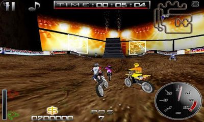 Screenshots do Ultimate MotoCross - Perigoso para tablet e celular Android.