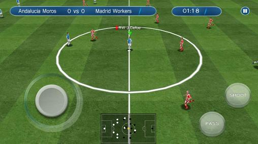 Screenshots do Ultimate soccer - Perigoso para tablet e celular Android.