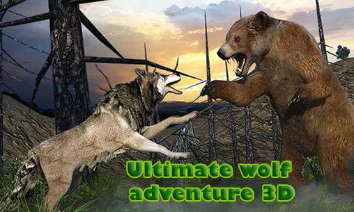 Ultimate wolf adventure 3D poster
