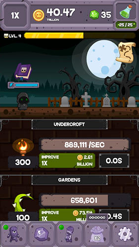 Screenshots von Undead tycoon für Android-Tablet, Smartphone.