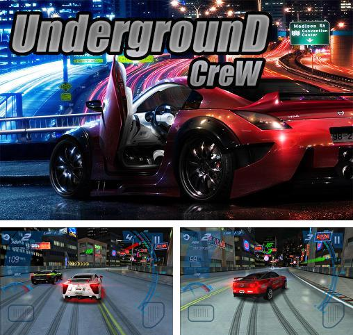 In addition to the game Project JDM: Drift underground for Android phones and tablets, you can also download Underground crew for free.