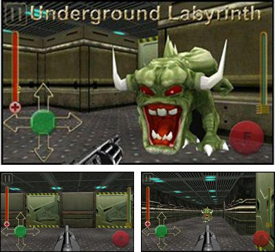 In addition to the game Tiamat X for Android phones and tablets, you can also download Underground labyrinth for free.