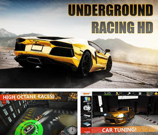 In addition to the game Project JDM: Drift underground for Android phones and tablets, you can also download Underground racing HD for free.