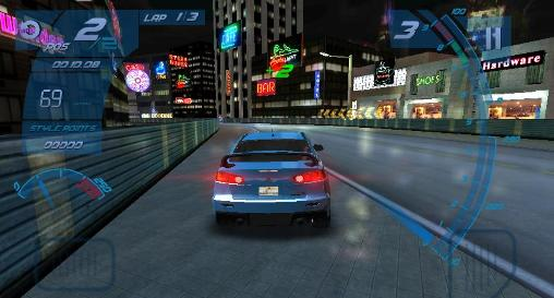 Underground racing rivals screenshot 2