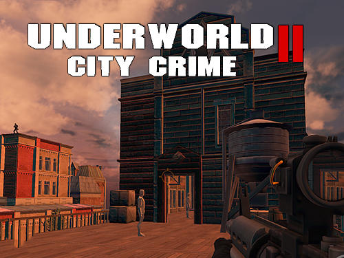 Underworld city crime 2: Mafia terror poster