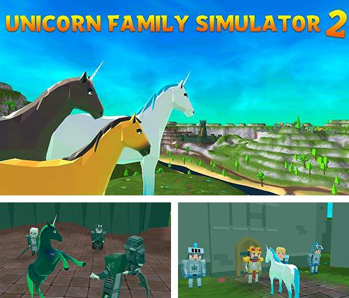 Unicorn Family Simulator 2: Magic horse adventure