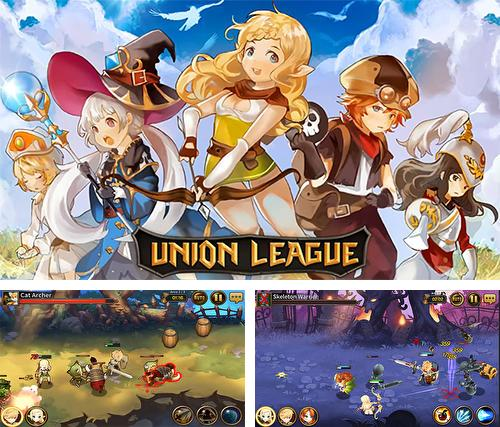 In addition to the game Unknown heroes for Android phones and tablets, you can also download Union league for free.