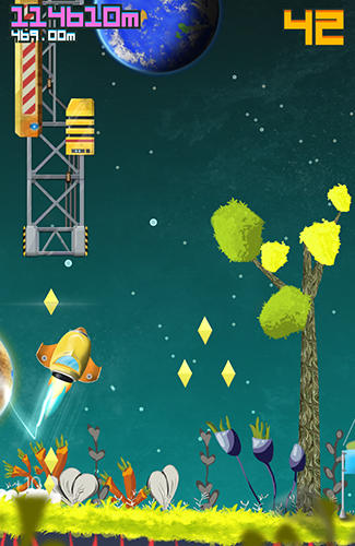 Screenshots von Universe 42: Space endless runner für Android-Tablet, Smartphone.