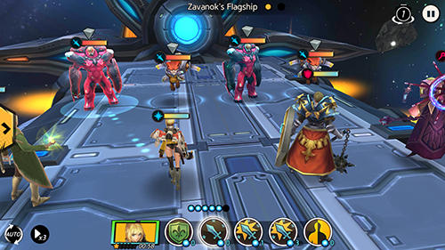 Download Unknown heroes Android free game.