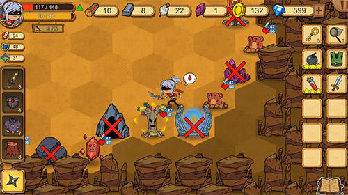 Screenshots of the Unlikely heroes for Android tablet, phone.