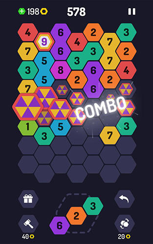 Get full version of Android apk app Up 9: Hexa puzzle! Merge numbers to get 9 for tablet and phone.