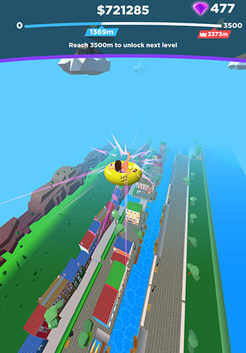Uphill rush: Slide jump screenshot 2