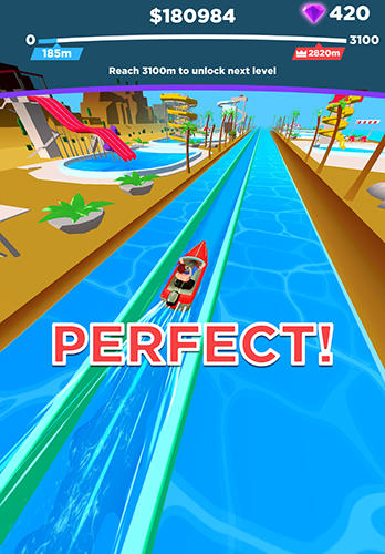 Uphill rush: Slide jump screenshot 3