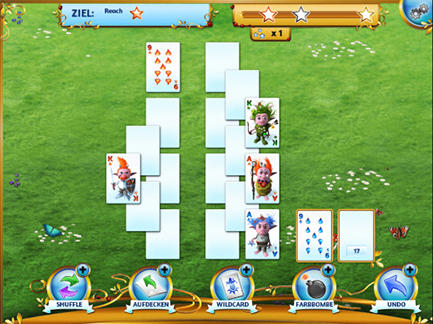 Screenshots von Regal solitaire: Shuffle jewels für Android-Tablet, Smartphone.